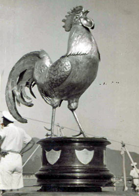 Cock of the Fleet trophy 1950