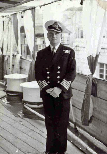 Captain Dickinson of HMS Phoebe
