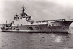 HMS Eagle. Image from David Killelay